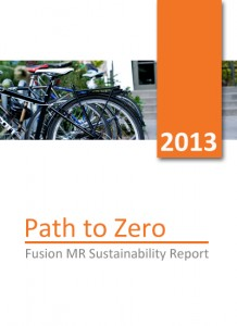 2013 Sustainability Report Cover